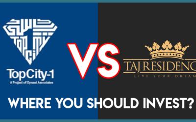 Taj Residencia Vs Top City 1 Where You Should Invest?