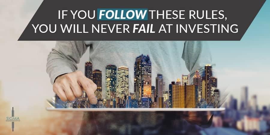 Investing banner design