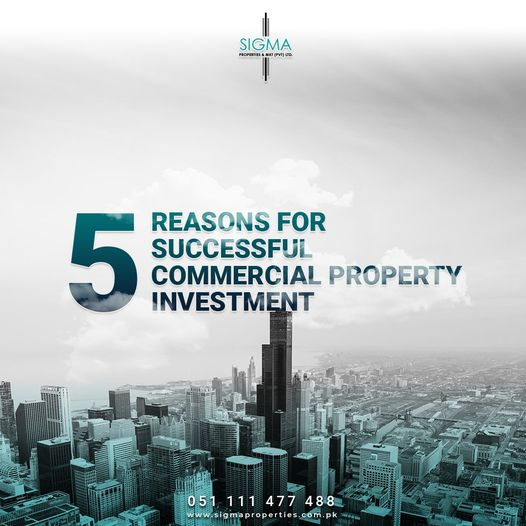 Reasons for successful commercial property investment