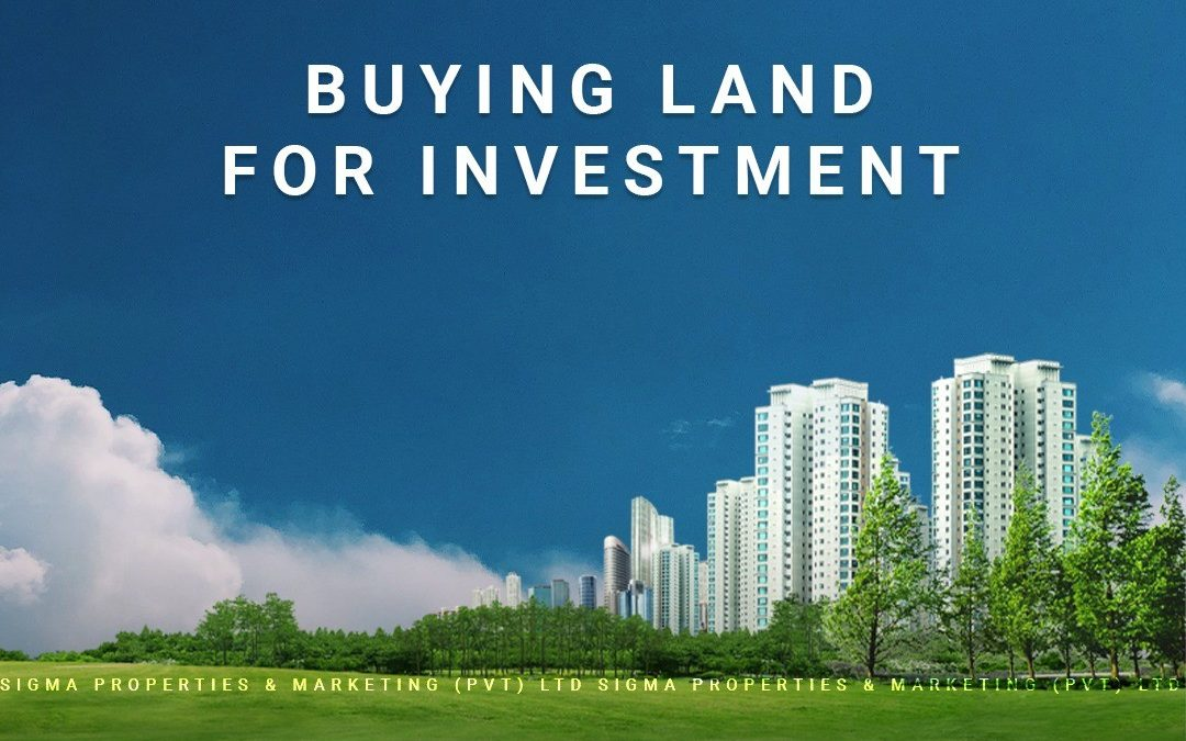 buying land for investment