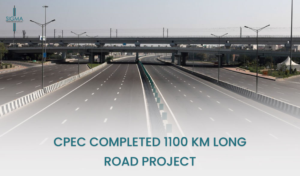 CPEC completed 1100 km long Road Project