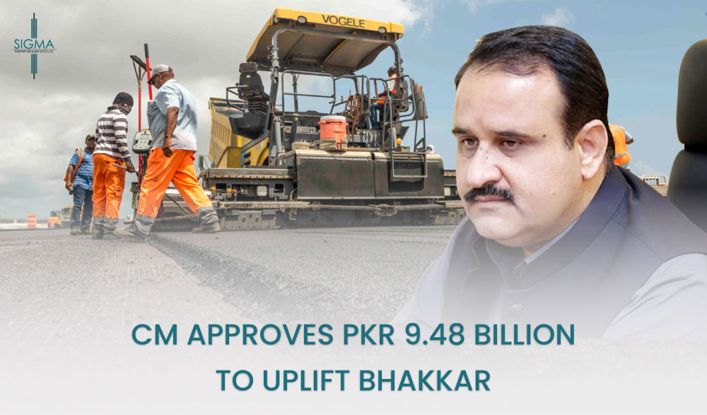 CM Approves PKR 9.48 Billion For BhakkarDevelopment Projects