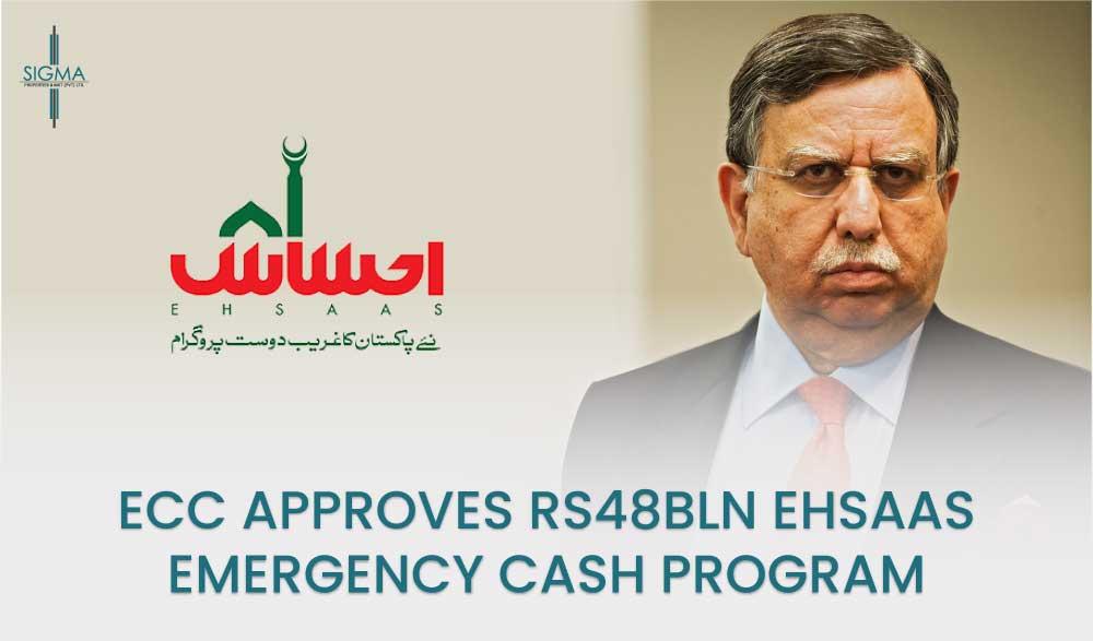 ECC Approved Rs48bln For Ehsaas Emergency Cash Program