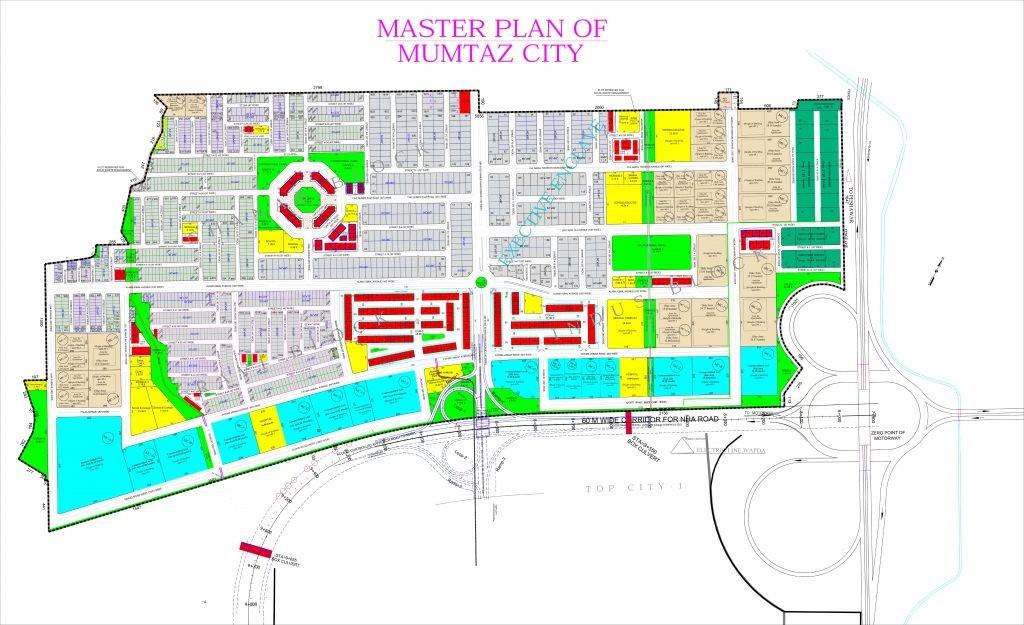 master plan of mumtaz city