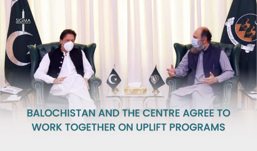 Balochistan and the Centre Agree to Work Together On Uplift Programs