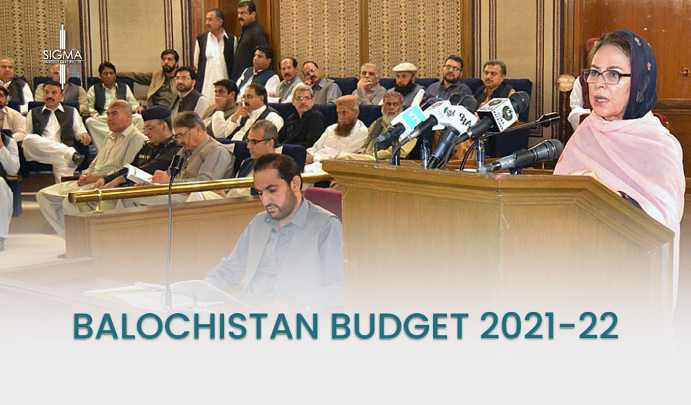 Balochistan Budget 2021-22 : At the People's Expense