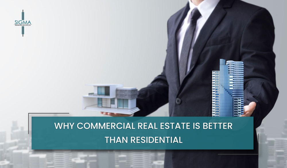 Why Commercial Real Estate is better than Residential