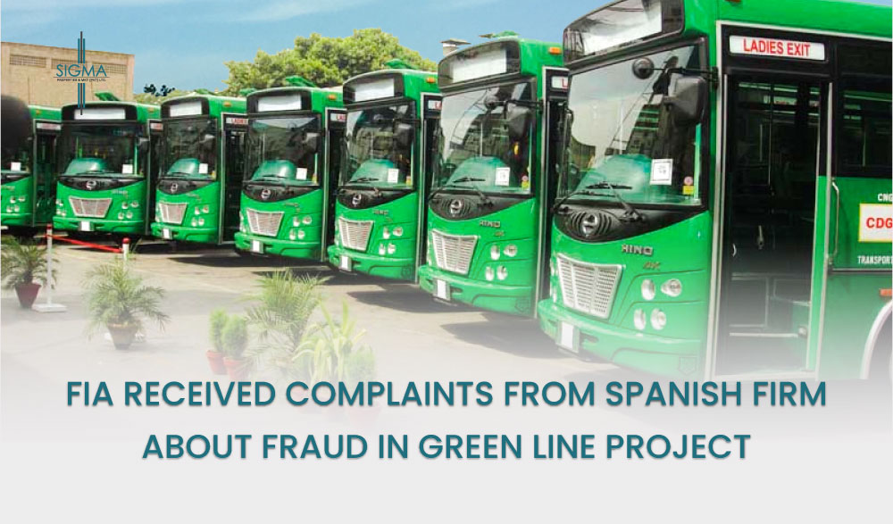 Fraud In Green Line Project - FIA Received Complaints From Spanish Firm