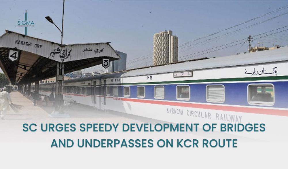 SC Urges Speedy Development of Bridges and Underpasses on KCR Route