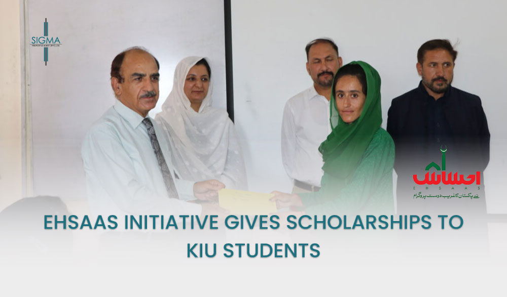 Ehsaas initiativegives scholarships to KIU students