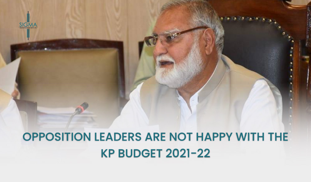 Opposition Leaders Are Not Happy With The KP Budget 2021-22
