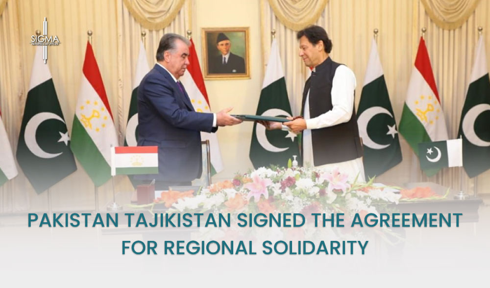 Pakistan Tajikistan Signed The Agreement For Regional Solidarity