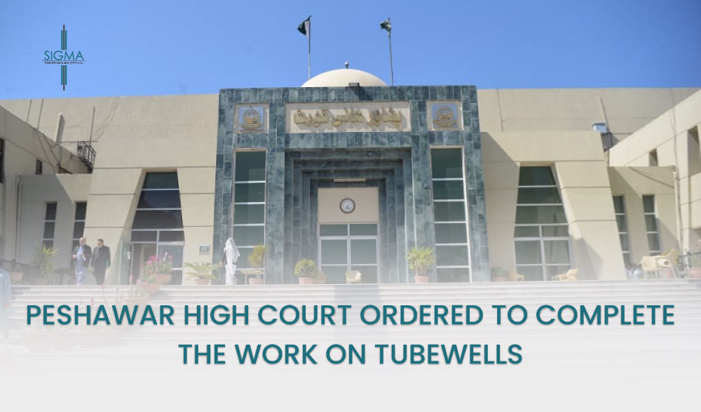 Peshawar High Court Ordered To Complete The Work On Tube Wells