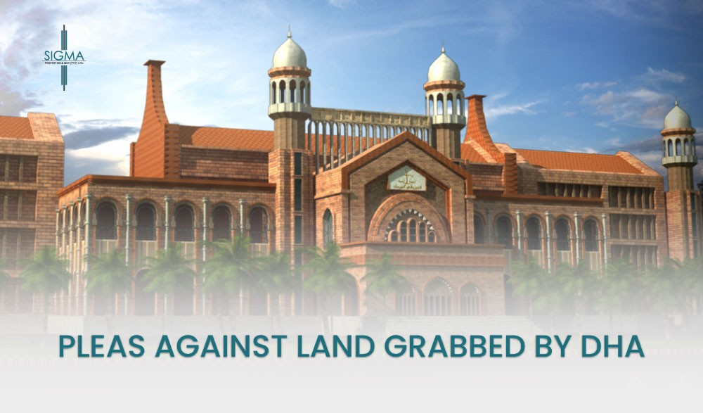 Pleas Against land grabbed by DHA in Lahore High Court