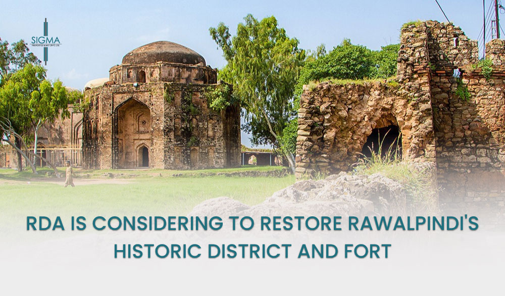 RDA is Considering to Restore Rawalpindi's Historic District and Fort