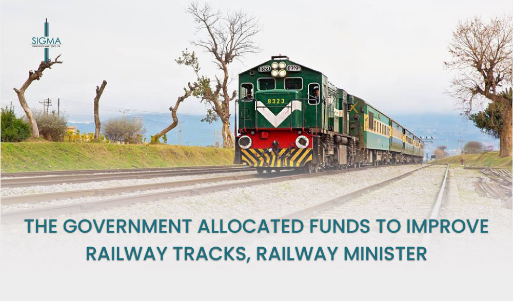 The Government Allocated Funds To Improve Railway Tracks, Railway Minister