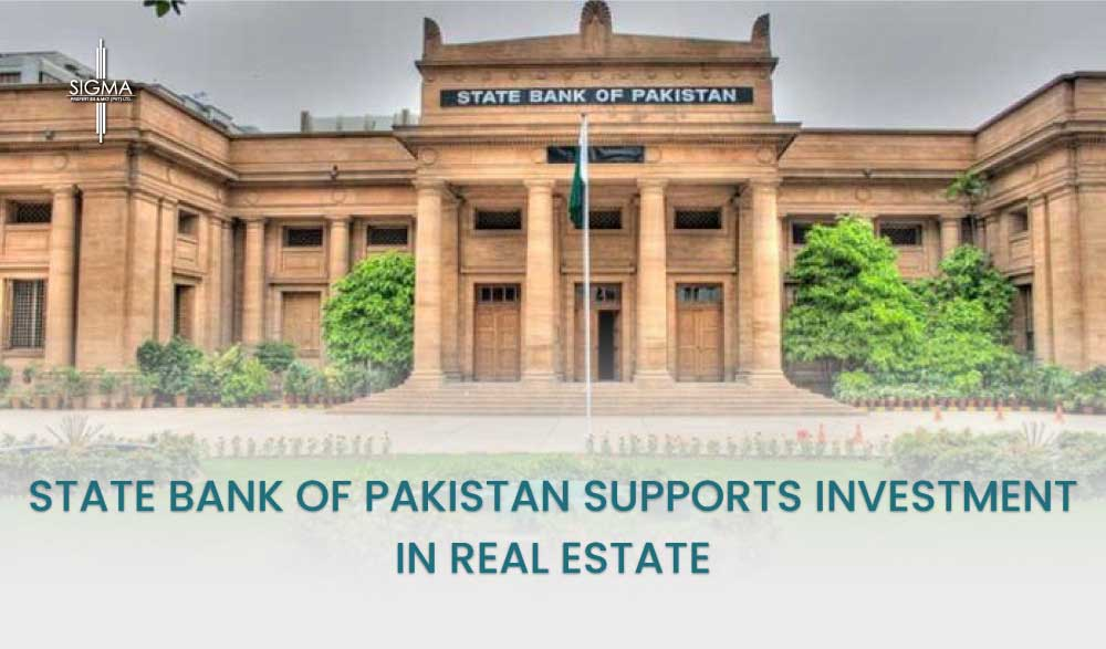 State Bank of Pakistan Supports Investment In Real Estate