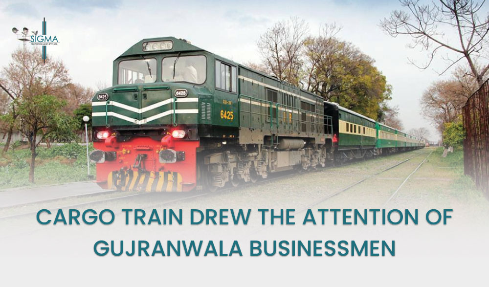 Cargo Train Drew The Attention Of Gujranwala Businessmen