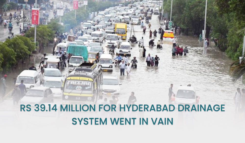 Rs 39.14 Million For Hyderabad Drainage System Went In Vain
