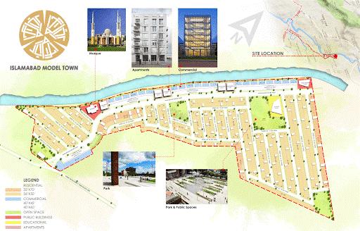 ISLAMABAD MODEL TOWN LOCATION