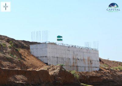 dam construction in capital city