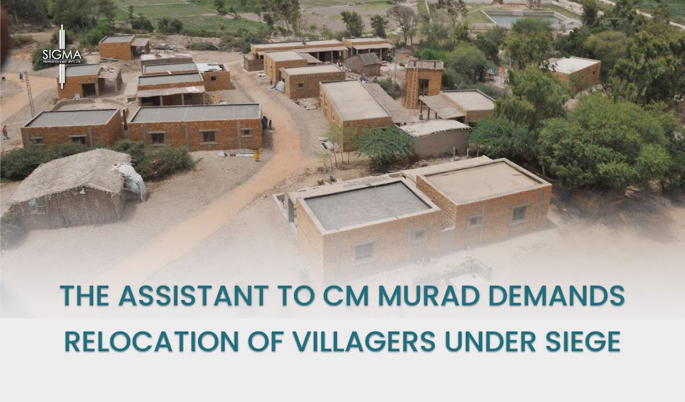 """The Assistant to CM Murad Demands the relocation of villagers who are """"Under Siege"""" by Mining Companies"""