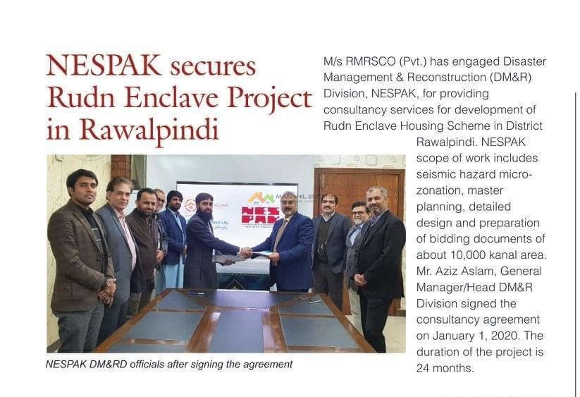 nespak secures rudn enclave project in rawalpindi