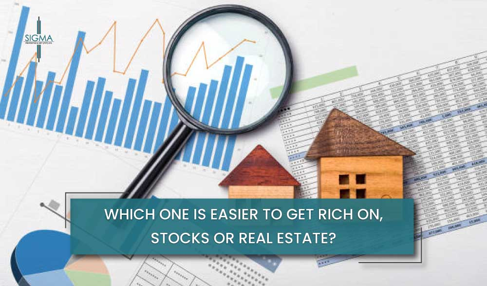 Which is better for an investment: Real estate or stocks?