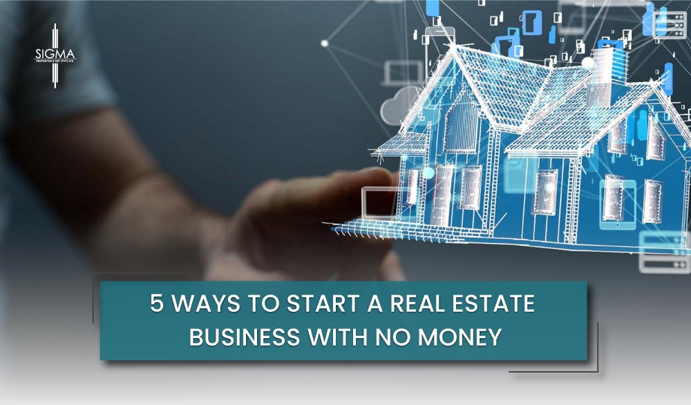 5 Ways to Start a Real Estate Business With No Money