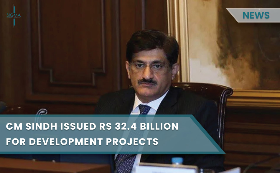 CM Sindh Issued Rs32.4 Billion For Development Projects, Octroi Zila Tax
