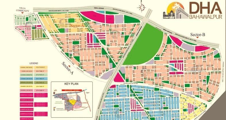 DHA Bahawalpur Master Plan