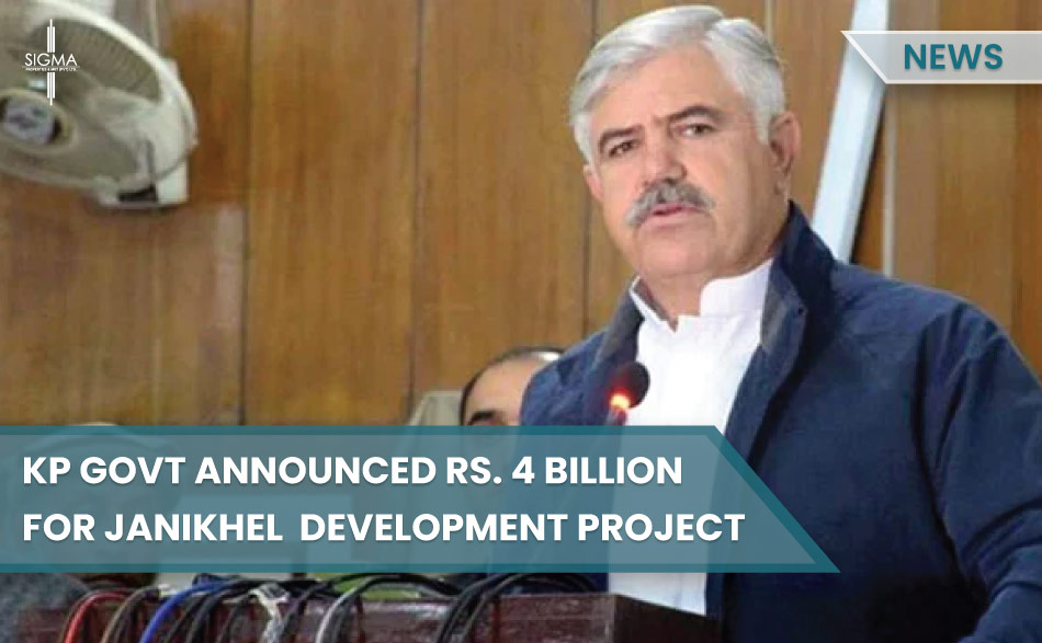 KP Government Announced Rs 4 Billion For Janikhel Development Project Including Shakto Dam