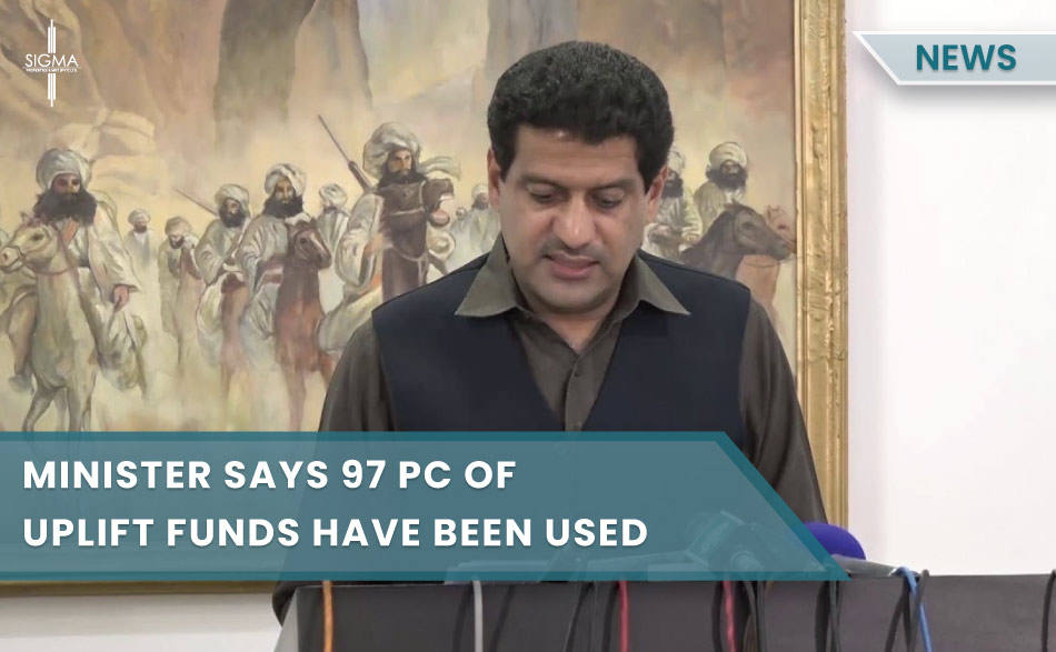 Minister says 97 pc of uplift funds have been utilized