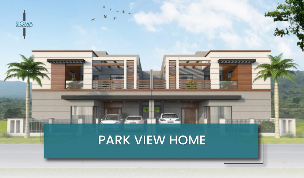 Park view home in Islamabad
