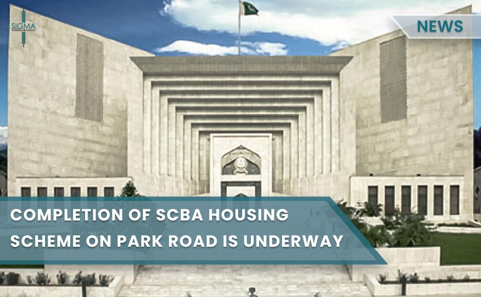 Completion of SCBA Housing Scheme on Park Road is Underway