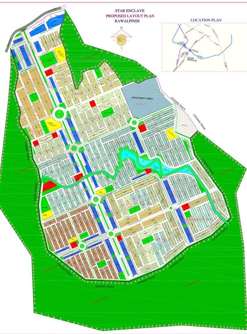 Star Enclave Islamabad master plan
