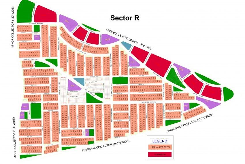 master plan of DHA Quetta