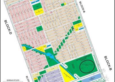 faisal hills Islamabad master plan of Block C