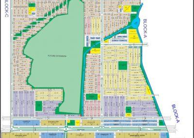 faisal hills Islamabad master plan of Block B