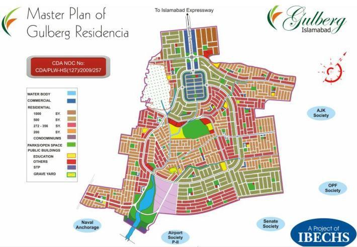 Gulberg Green master plan