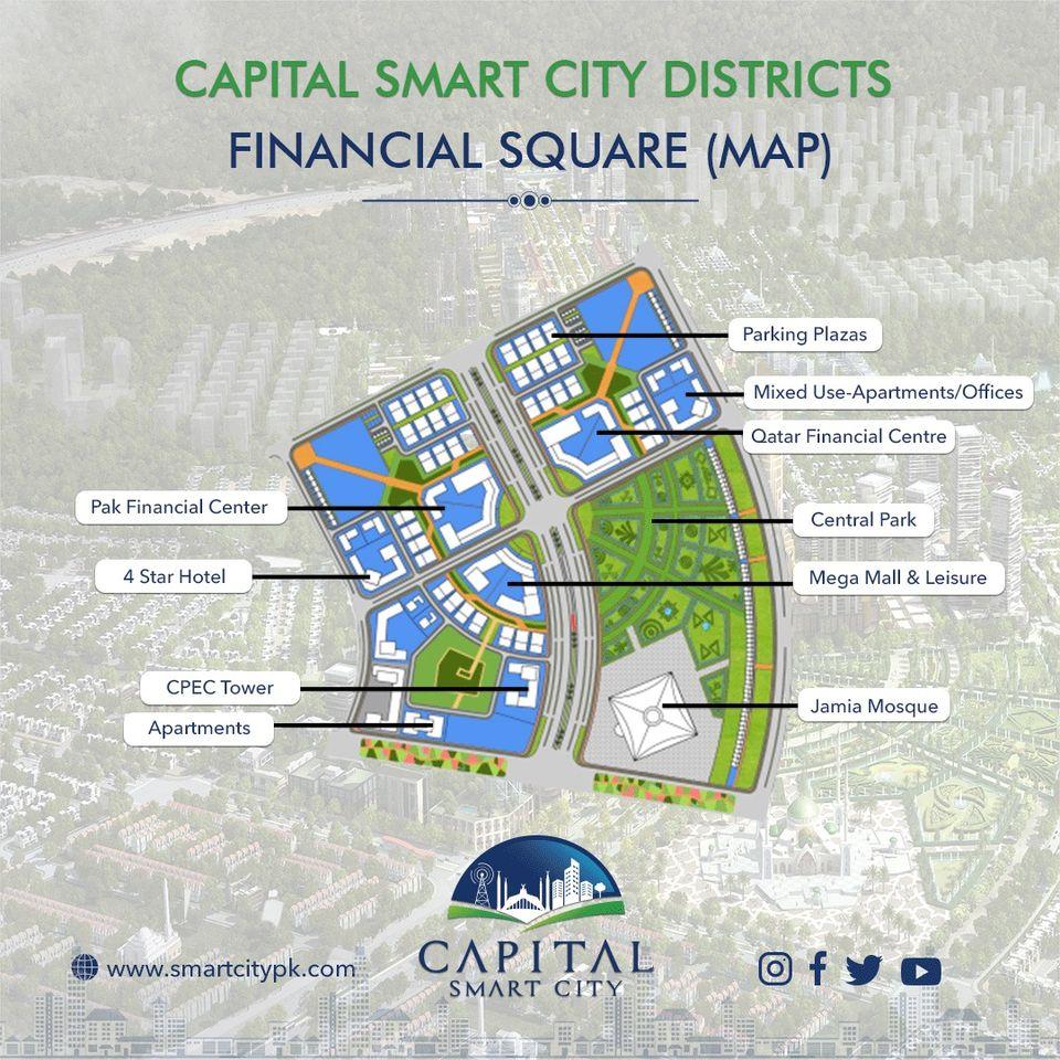 Capital smart city Financial Square