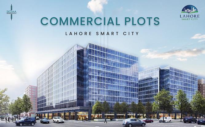 Lahore smart city commercial plots