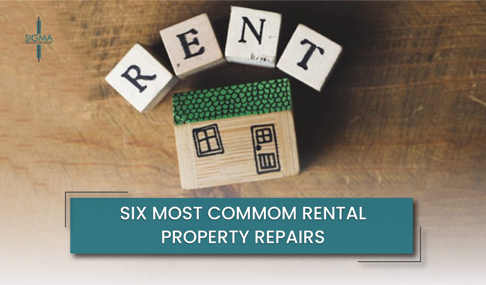 Six Most Common Rental Property Repairs