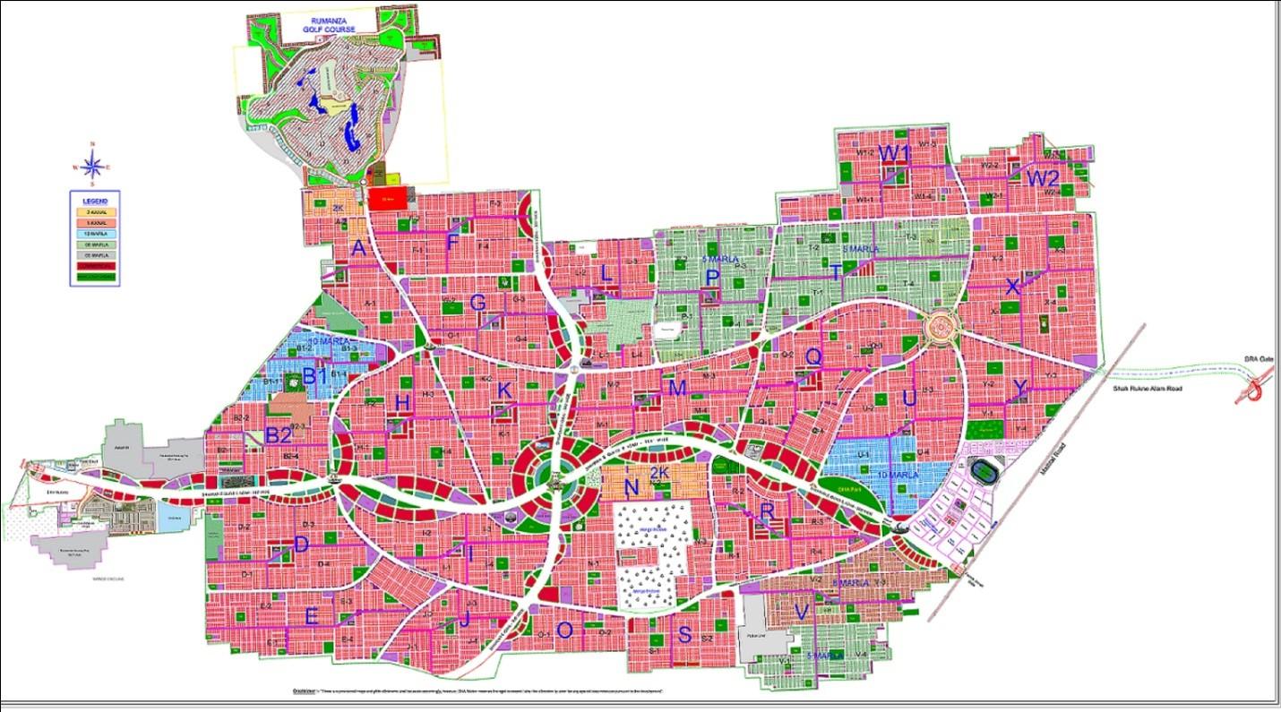 DHA Multan master plan