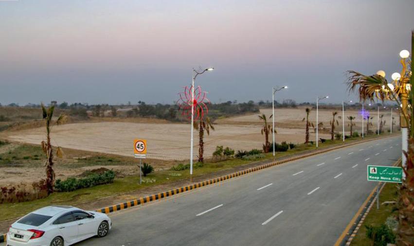 Paved RoadsNova city Islamabad