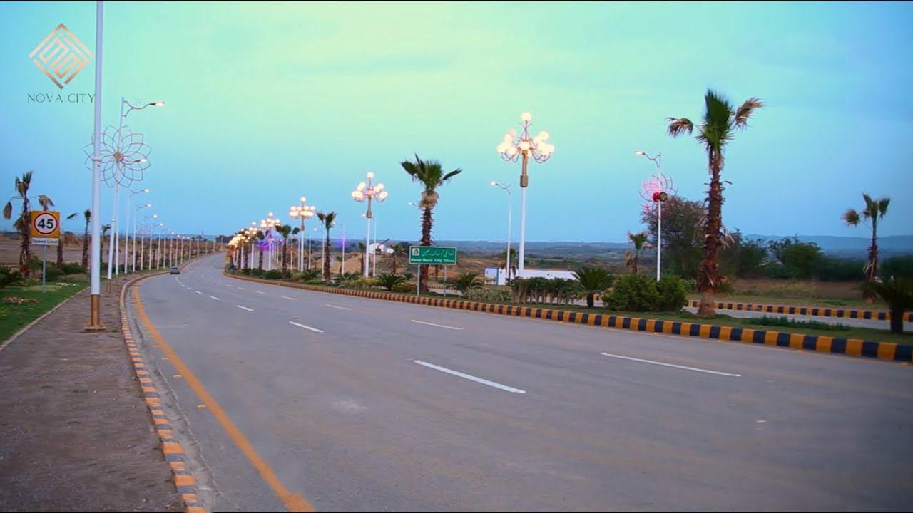 Nova city Development updates Light Poles