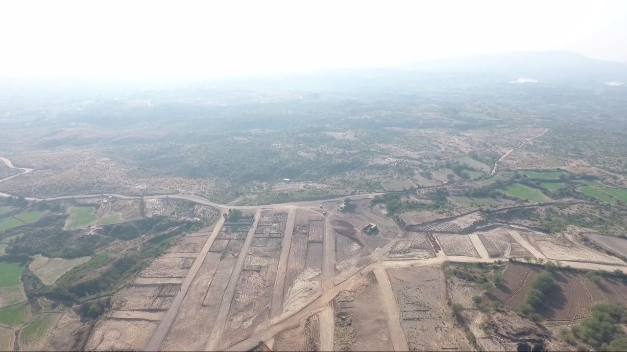Rudn Enclave road construction