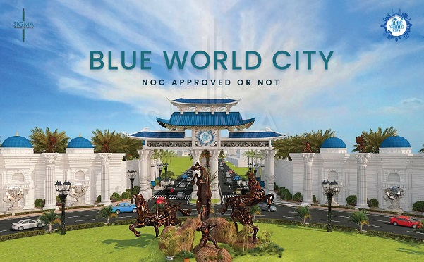 Blue World city Noc approved or not