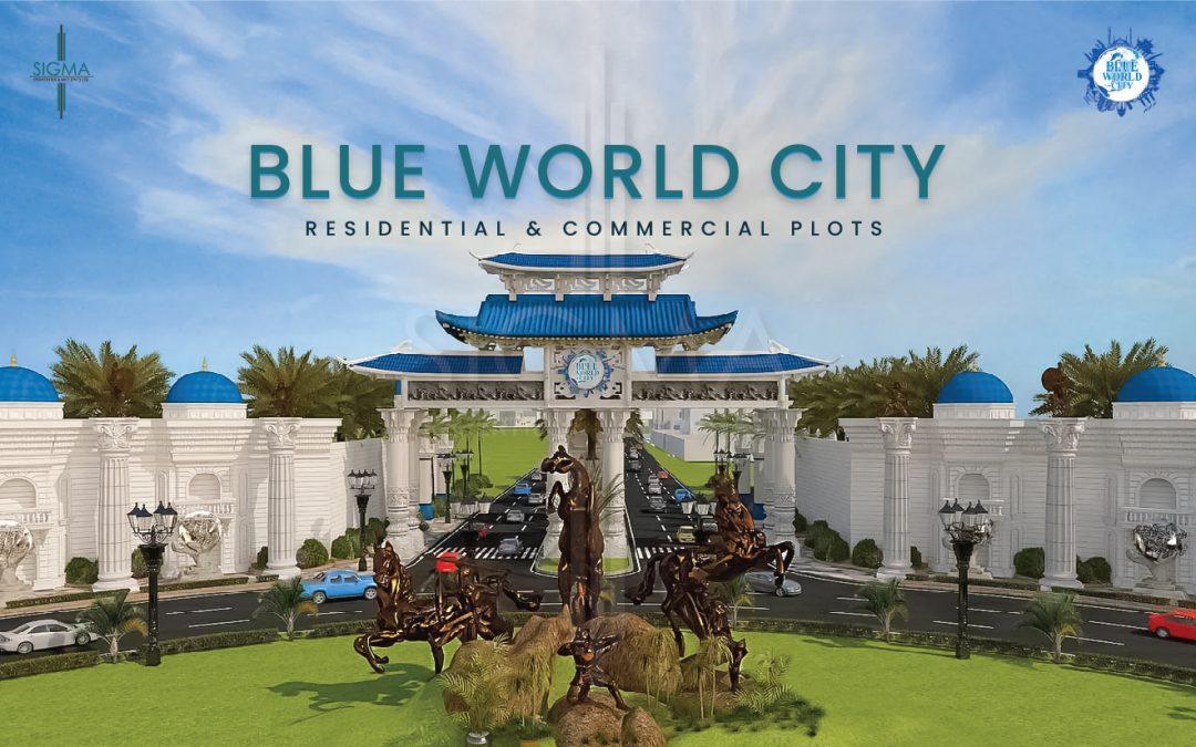 Blue world city plots